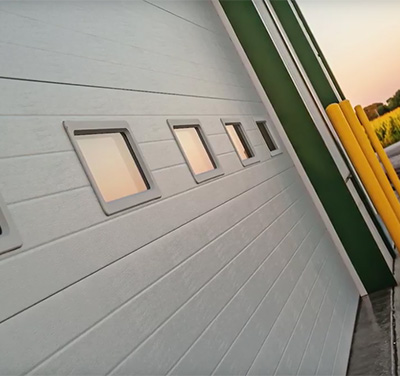 Micro-Grooved / Insulated Sandwich Door Style Image